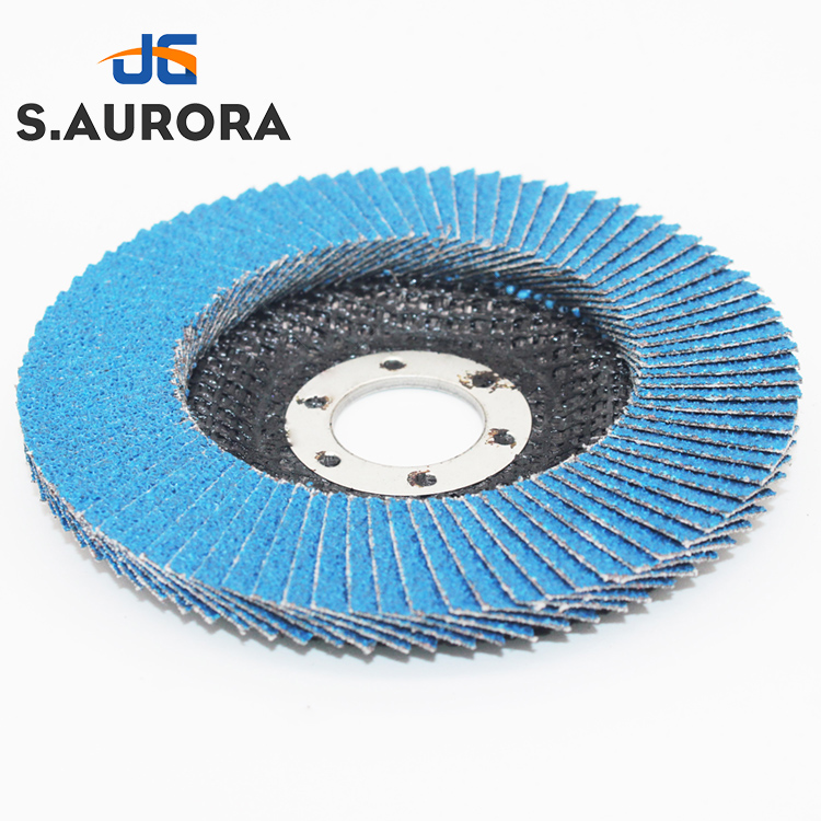 50pcs 80~600 grit flap wheel sandpaper sanding disc
