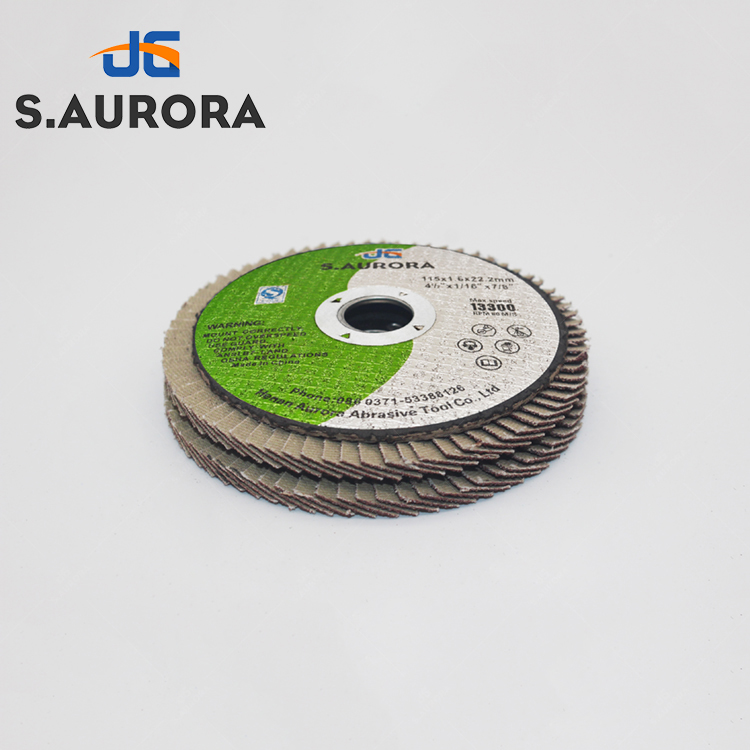 mercer industries 332024 zirconia flap disc, high density